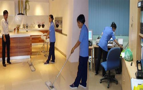 chi phí bảo vệ sinh văn phòng