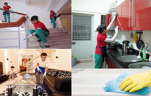 Dịch vụ vệ sinh nhà cửa đón tết