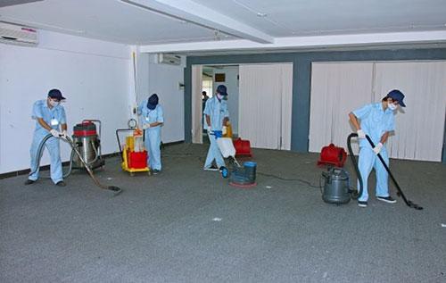 quy trình vệ sinh máy móc thiết bị