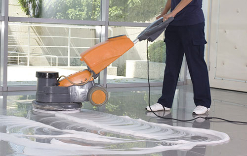Thi công đánh bóng sàn nhà