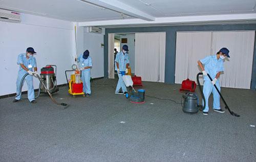 dịch vụ vệ sinh tòa nhà uy tín