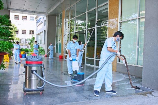 Thành phố Hồ Chí Minh có khá nhiều dịch vụ vệ sinh công nghiệp nhà xưởng