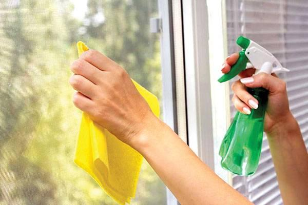 Cách xử lý đối với cửa sổ, cửa kính.