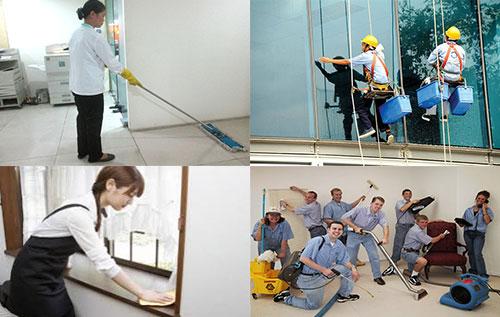 Dịch vụ vệ sinh công nghiệp tại Quận 7 hiện nay đang rất phổ biến