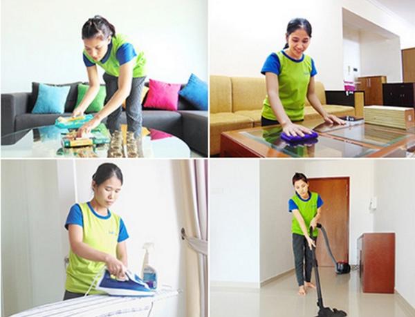 Các dịch vụ vệ sinh nhà cửa, giá cả hợp lý