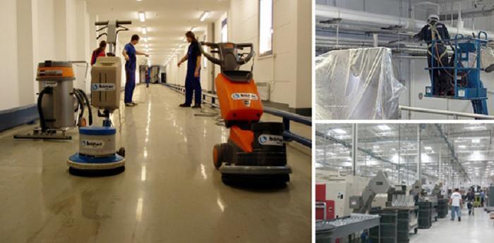 Dịch vụ vệ sinh công nghiệp tại huyện Nhà Bè