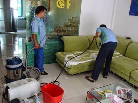 Đồ nội thất, vật dụng trong các phòng đều được vệ sinh sạch sẽ