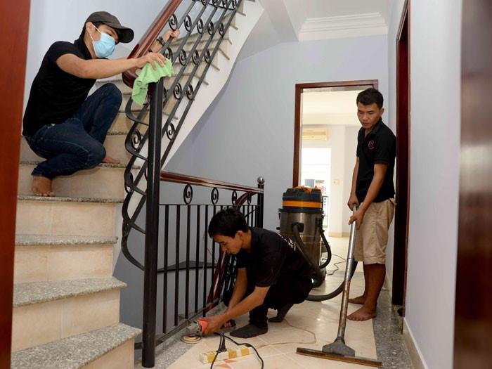 Tìm đến các dịch vụ vệ sinh nhà ở chuyên nghiệp giúp bạn tiết kiệm thời gian, công sức và tiền bạc