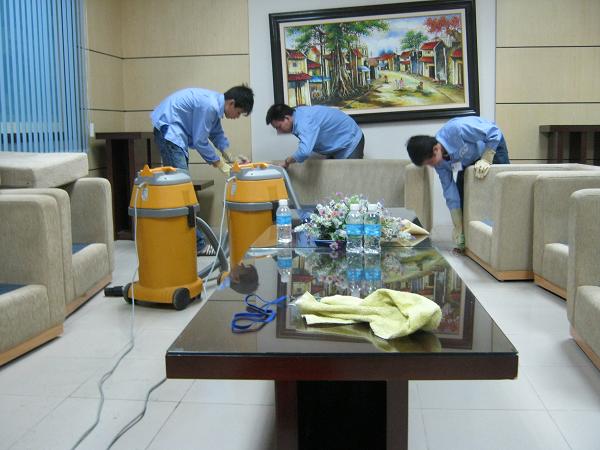 Tổng vệ sinh nhà cuối năm tại Gia Khang