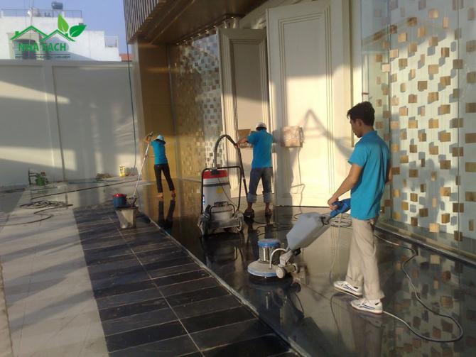 Đánh bóng sàn bê tông bằng máy đem lại nhiều lợi ích
