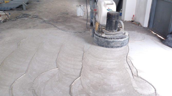 Dịch vụ đánh bóng mặt sàn bê tông