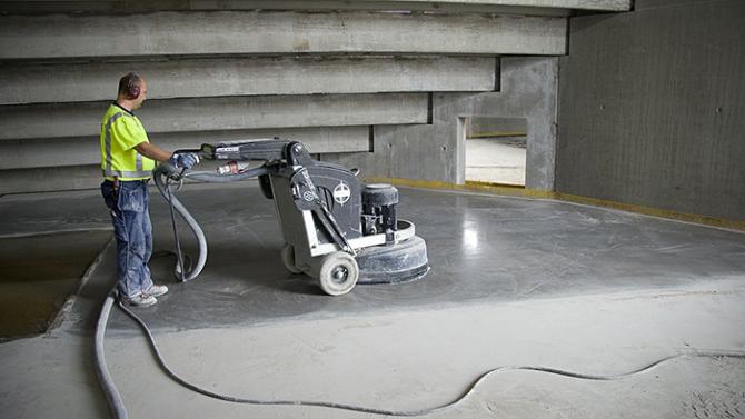 Khi nào cần đánh bóng sàn bê tông