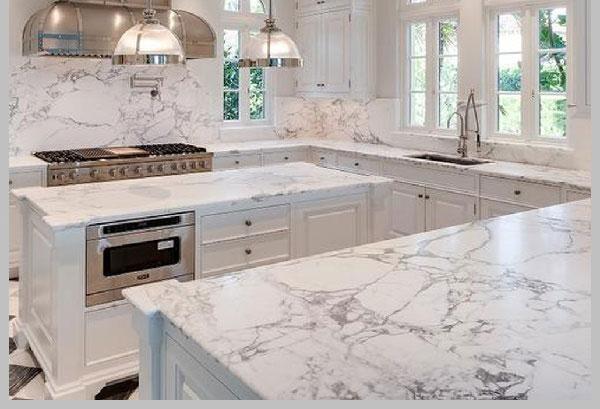 Sử dụng đá hoa cương làm nội thất trong nhà