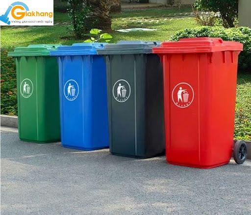 Thùng rác công nghiệp – Sản phẩm quan trọng nhất định phải có
